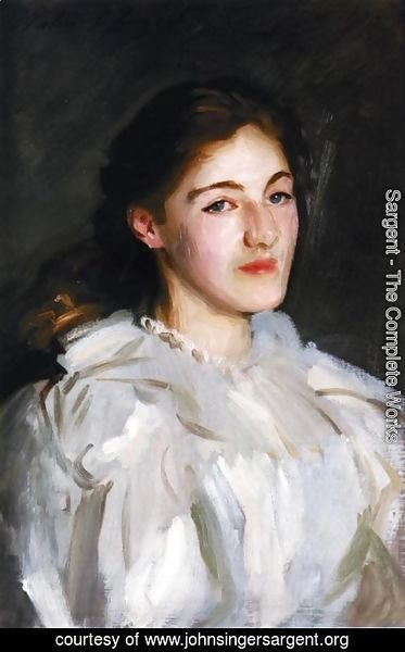 Sargent - A Portrait of Cicely Horner