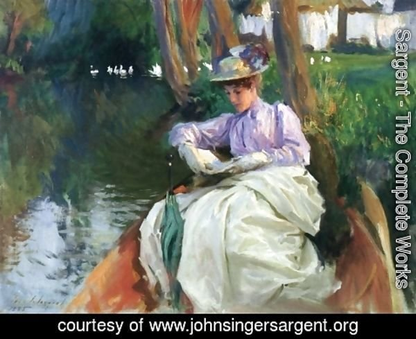 Sargent - By the River I