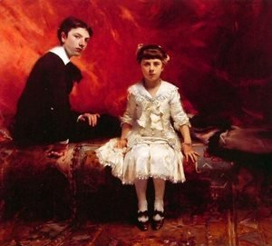 Sargent - Portrait of Edouard and Marie-Loise Pailleron