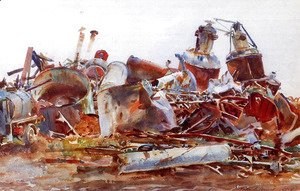 Sargent - A Wrecked Sugar Refinery