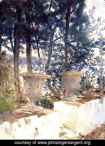 Sargent - Corfu, The Terrace
