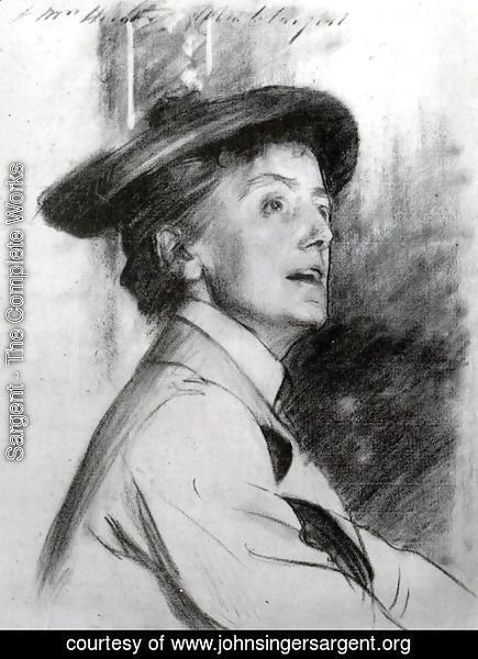 Sargent - Portrait of Dame Ethel Smyth