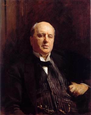 Sargent - Portrait of Henry James