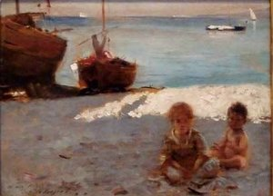 Sargent - Beach at Capri