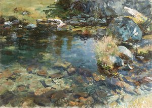 Sargent - Alpine Pool 1907