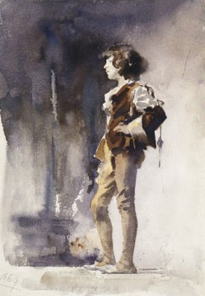 Sargent - Boy in Costume Early 1880s