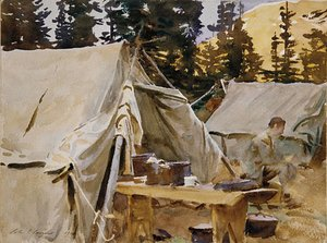 Camp at Lake O'Hara 1916