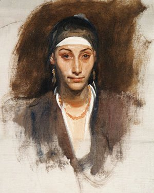 Sargent - Egyptian Woman with Earrings