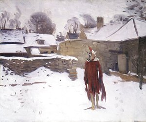 Sargent - Mannikin in the Snow