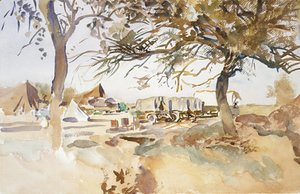 Sargent - Military Camp 1918