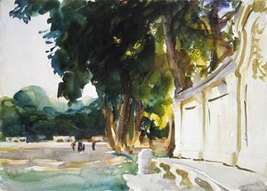 Sargent - Spanish Midday Aranjuez 1912 (or 1903)