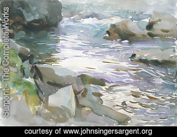 Sargent - Stream and Rocks