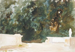 Sargent - Terrace and Gardens 1907