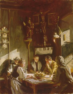 Sargent - Tyrolese Interior 1915