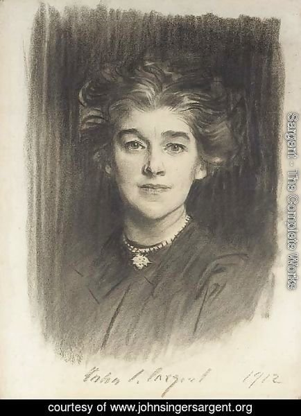 Portrait of Mrs. Godfrey William Paget Mellor (Norah Alston)