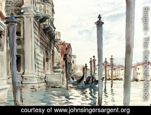 Sargent - The Grand Canal, Venice