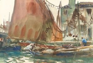 Sargent - Drying Sails