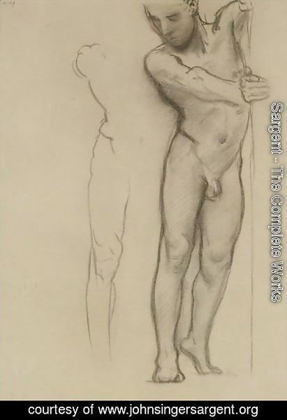 Sargent - Study For A Male Nude