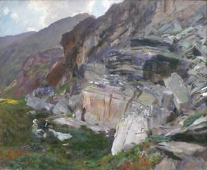 Sargent - In the Simplon Valley