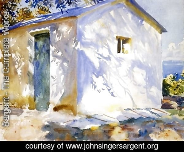 Sargent - Corfu Lights and Shadows