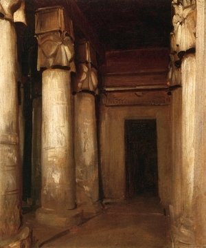 Sargent - Temple of Denderah