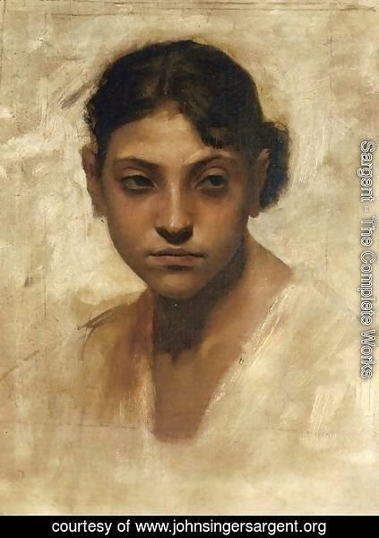 Sargent - Head of Capri Girl