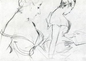 Sargent - Two studies for Madame X