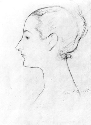 Sargent - Study for Madame X 2