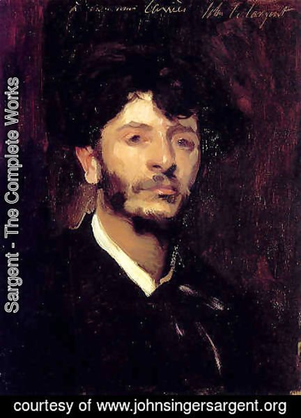 Sargent - Portrait of Jean Joseph Marie Carries