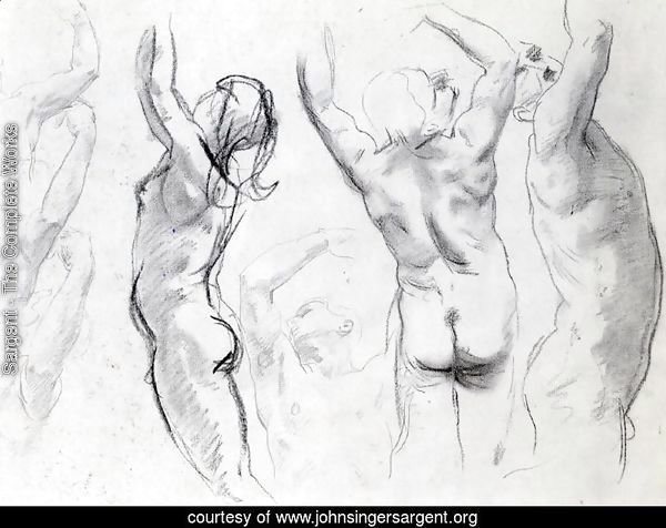 Studies of a Nude Youth