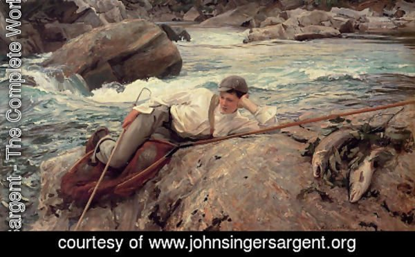 Sargent - On His Holidays, Norway
