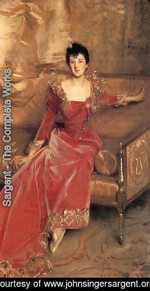 Sargent - Mrs  Hugh Hammersley