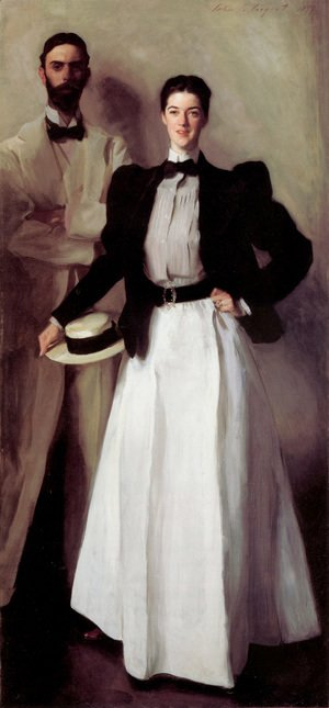 Sargent - Mr  And Mrs  Isaac Newton Phelps Stokes