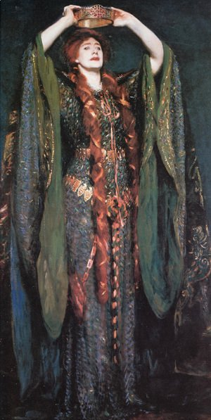 Sargent - Miss Ellen Terry As Lady Macbeth