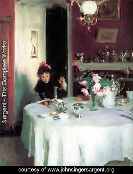 Sargent - The Breakfast Table