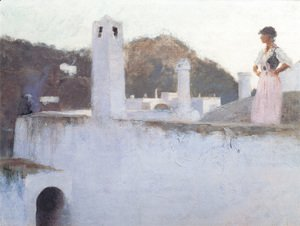 Sargent - View Of Capri