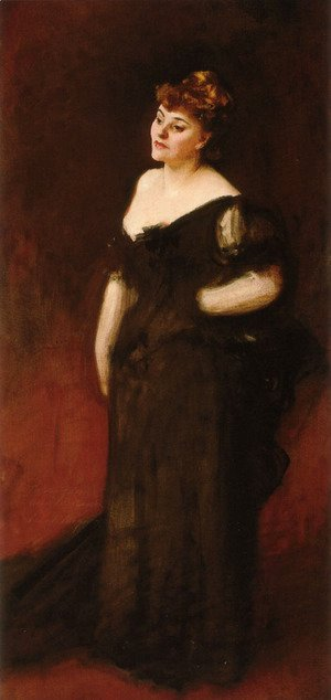 Sargent - Portrait Of Mrs Harry Vane Milbank
