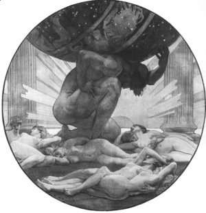 Sargent - Atlas And The Hesperides