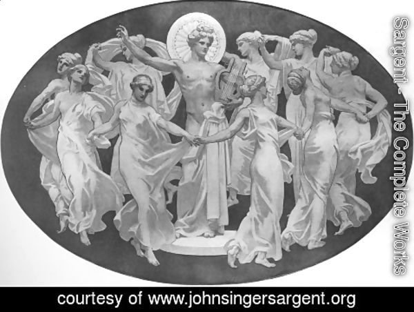 Sargent - Apollo And The Muses
