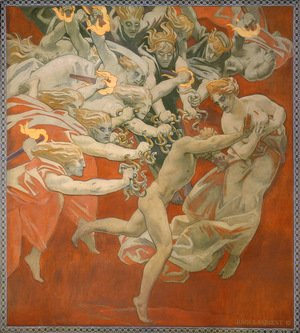 Sargent - Orestes Pursued By The Furies