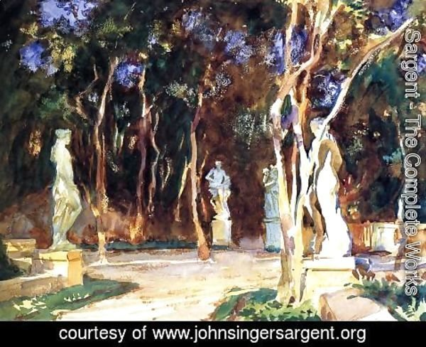 Sargent - Shady Paths