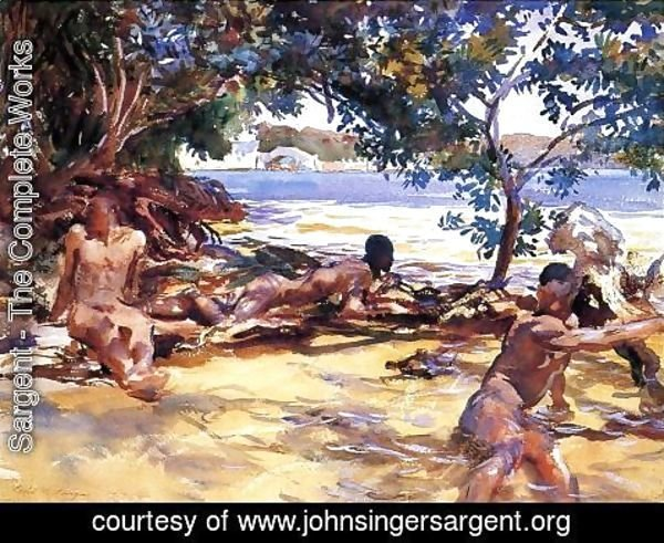Sargent - The Bathers