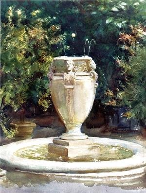 Sargent Fountain Painting Famous