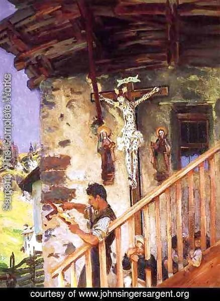 Sargent - A Tyrolese Crucifix