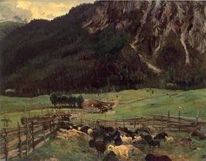 Sargent - Sheepfold In The Tirol