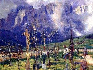 Sargent - Graveyard In The Tyrol