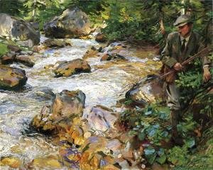 Sargent - Trout Stream In The Tyrol