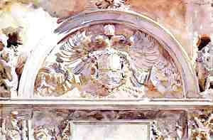 Sargent - Escutcheon Of Charles V