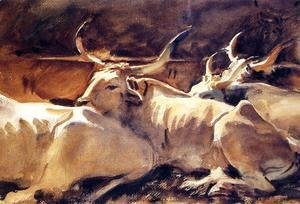 Sargent - Oxen In Repose