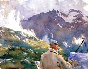 Sargent - Artist In The Simplon